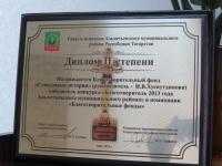 Благотворительный фонд «Счастливые истории» награжден дипломом II степени победителя конкурса «Благотворитель 2013 года» в номинации «Благотворительные фонды»