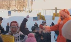 Embedded thumbnail for «сКАЗАНиЯ» празднуют «Солнечную Масленицу» в коррекционной школе №61 г. Казани